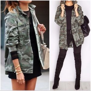 American Apparel Camo Military US NAVY Jacket M